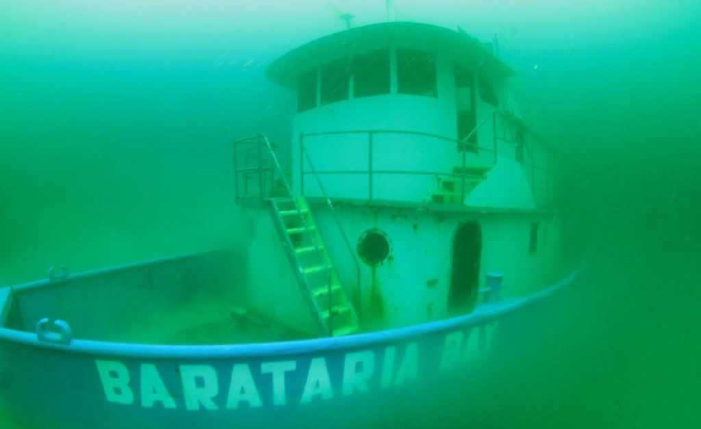 Barataria Bay vessel